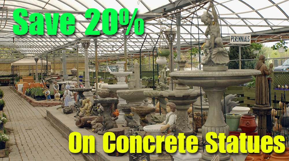 HVN Spring 2018 Special - Concrete Statues